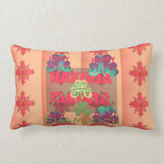Hakuna Matata Shamrock young sprig of clover Text Pillow