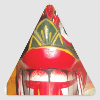 Hakuna Matata skull Latest Halloween Bash gifts.jp Triangle Sticker