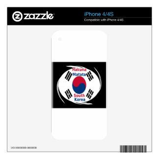Hakuna Matata South Korea Decals For The iPhone 4S