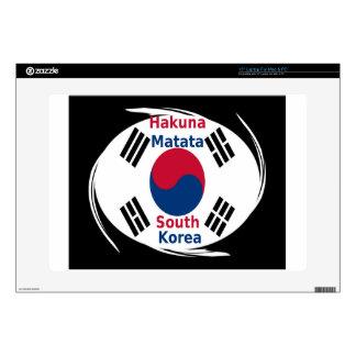 "Hakuna Matata South Korea Skin For 15"" Laptop"