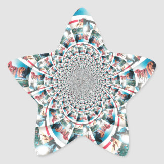 Hakuna Matata Star Sticker