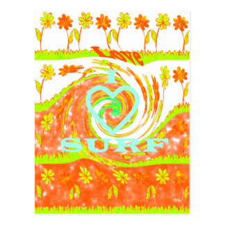 Hakuna Matata Summer Baby Kids I Love Surfing..png Postcard