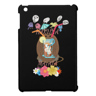 Hakuna Matata Summer time beach party iPad Mini Cover