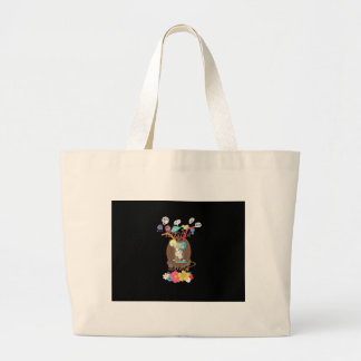 Hakuna Matata Summer time beach party Large Tote Bag