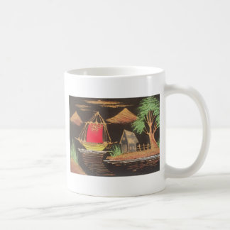 Hakuna Matata Trendy Vintage Sail Ship Safari Nigh Coffee Mug