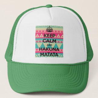Hakuna Matata Trucker's Hat