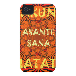 Hakuna Matata Uniquely Exceptionally latest patter Case-Mate iPhone 4 Case