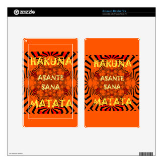 Hakuna Matata Uniquely Exceptionally latest patter Skins For Kindle Fire