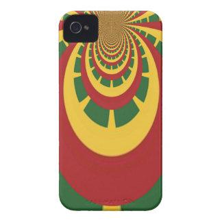 Hakuna Matata Vintage COOL RETRO jamaicas Rastas iPhone 4 Case