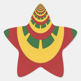 Hakuna Matata Vintage COOL RETRO jamaicas Rastas Star Sticker
