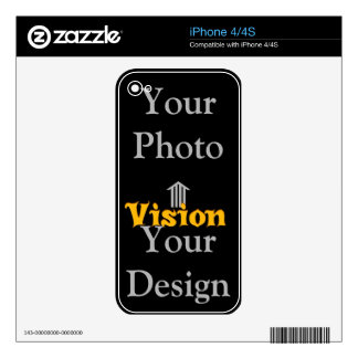 Hakuna Matata Vision Your Design iPhone 4 Skin