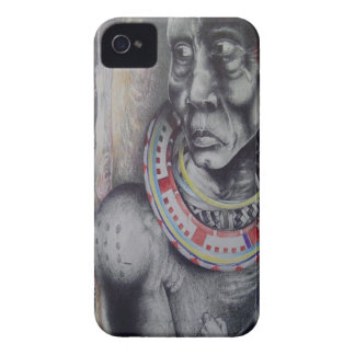 Hakuna Matata with Lions and Masai.jpg Case-Mate iPhone 4 Cases
