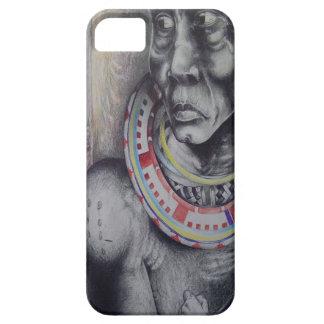 Hakuna Matata with Lions and Masai.jpg iPhone SE/5/5s Case