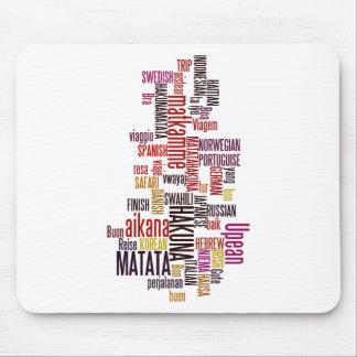 Hakuna Matata word Mouse Pad