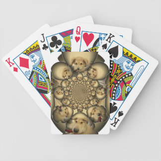 Hakuna Matta Puppies and Dogs infinity amazing sty Bicycle Playing Cards