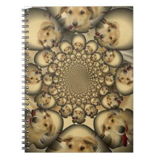 Hakuna Matta Puppies and Dogs infinity amazing sty Notebook
