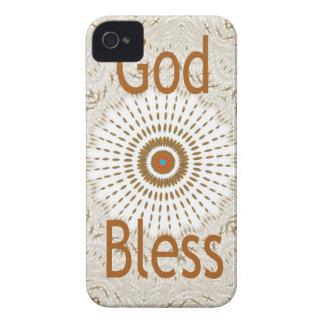 Hakuna Mtata God Bless iPhone 4 Case