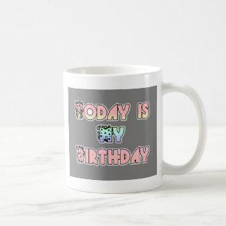 HakunaMatata Gift Today is my Birthday.png Coffee Mug