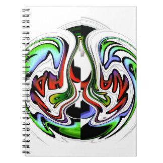 HakunaMatata hakunamatata gift colors Notebook