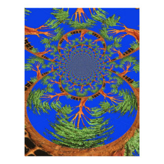 HakunaMatata I'm not allergic to people Eco tree Letterhead Design