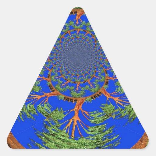 HakunaMatata no soy alérgico al árbol de Eco de la Pegatina Triangular