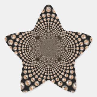 Hakunamatata puso en peligro las marcas .png del pegatina en forma de estrella