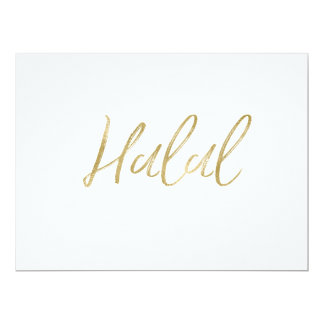 """Halal"" Food Sign 