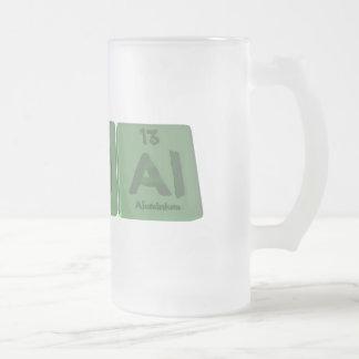 Halal-H-Al-Al-Hydrogen-Aluminium-Aluminium.png Frosted Glass Beer Mug