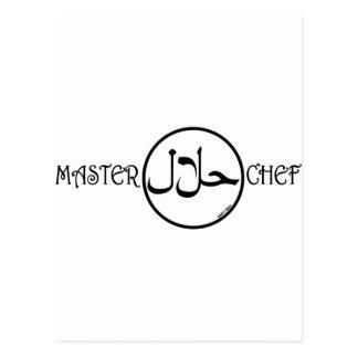Halal Masterchef Postcard