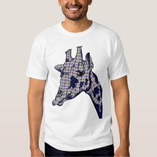 Halarious Argyle Patterned Giraffe Head Shirt