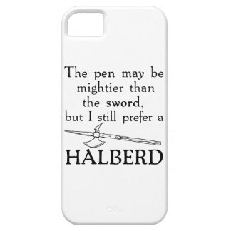 Halberd iPhone 5 Covers