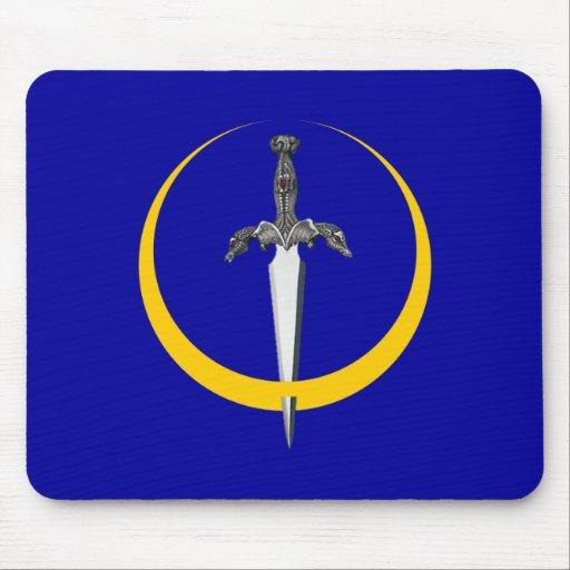 Halbmond Dolch crescent dagger Mauspads