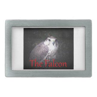 Halcón, ave rapaz, fauna, naturaleza, foto hebillas de cinturón rectangulares