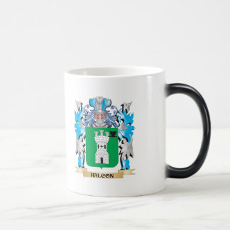Halcon Coat of Arms - Family Crest 11 Oz Magic Heat Color-Changing Coffee Mug