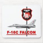 Halcón de Bahrein real del F-16 de la fuerza aérea Tapete De Raton