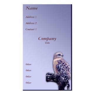 halcón de la Cortocircuito-cola Plantillas De Tarjeta De Negocio