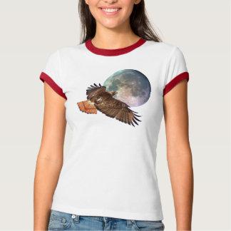 Halcón de la Rojo-Cola y camisa de la fauna de la