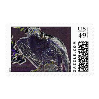 Halcón de neón sellos