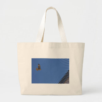 Halcón de peregrino bolsa lienzo