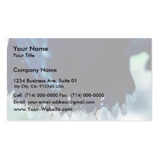 Halcón de peregrino joven plantilla de tarjeta de negocio