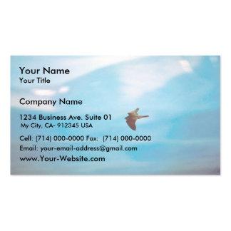 Halcón de peregrino tarjetas de visita