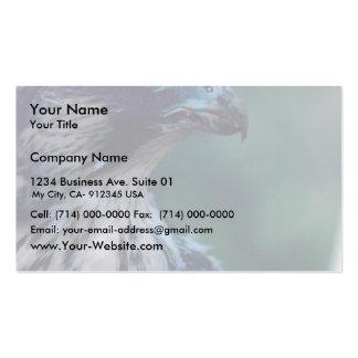 Halcón de peregrino plantilla de tarjeta de visita