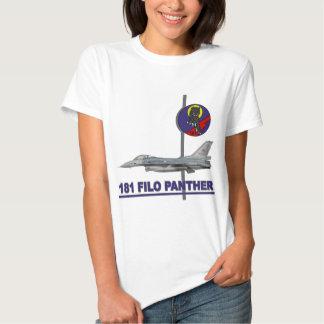 Halcón del F-16 de la pantera de 181 FILO Remera