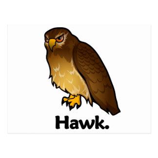 Halcón del halcón postales