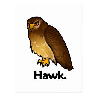 Halcón del halcón tarjeta postal