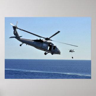 Halcón del mar de MH-60S Póster