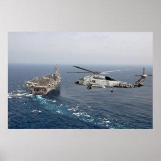 Halcón del mar de SH-60F Póster