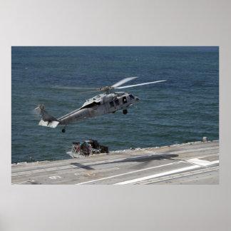 Halcón del mar de SH-60S Póster