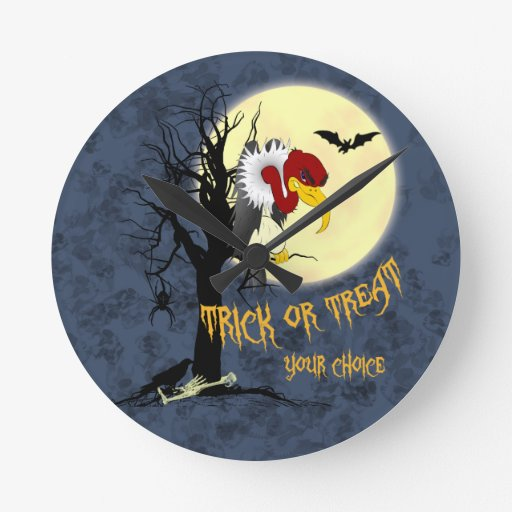 Halcón divertido de Halloween Relojes