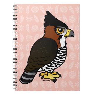 Halcón-Eagle adornado Cuaderno